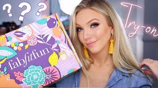 Let's Try On Summer Products! FabFitFun Summer 2018