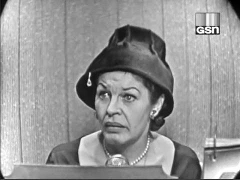What's My Line?  Martha Raye Dec 11, 1955
