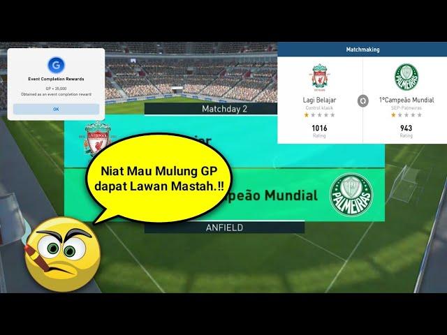 Niat Mau Mulung Gp Dapet Lawan Mastah.!! | Pes 2018 Mobile
