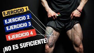 Tamaños de músculos las piernas de diferentes