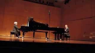 """Leonard Bernstein, """"Music For Two Pianos"""", ;Effie"""