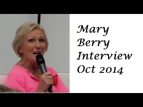 Mary Berry Interview - BBC Good Food Cake and Bake Show 2014
