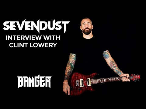 SEVENDUST lead guitarist Clint Lowery talks about their new album 'Blood & Stone'