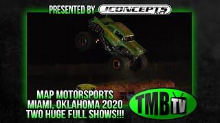 TMB TV Monster Trucks - Miami, OK 2020 TWO FULL SHOWS! *Re-Upload*