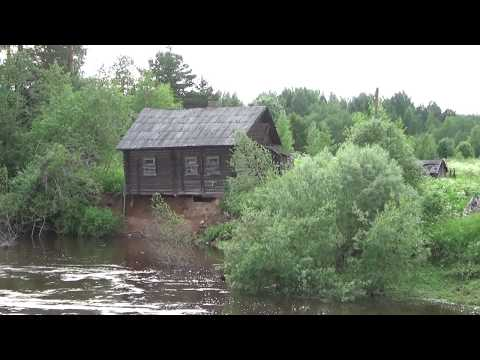 Дом на обрыве над Воложбой  Деревня Межуречье