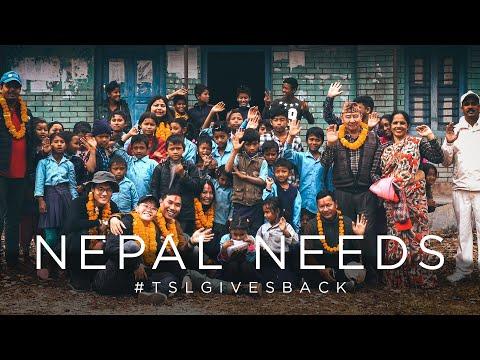 NEPAL NEEDS #TSLGIVESBACK
