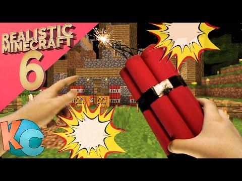 Realistic Minecraft 6 ~ Griefer Revenge!