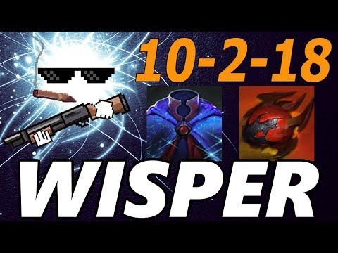 SAVINGS LIKE A BANK → Wisper → Pro Io Support Gameplay - Dota 2
