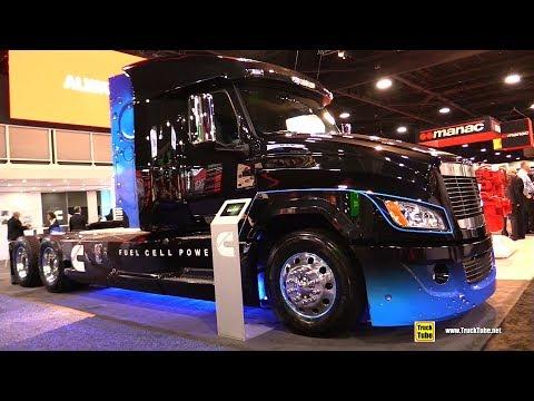 2020 Cummins Integrated Fuel Cell Electric Powertrain Truck - Exterior Walkaround