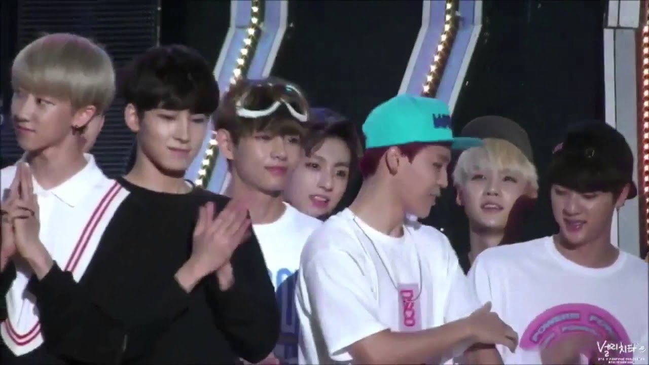 BTS X SEVENTEEN @ Show Champion [150701] - YouTube