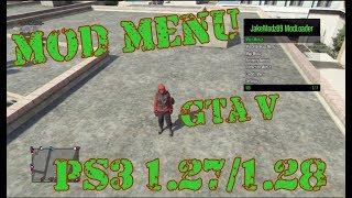 MOD MENU JakeModz v15 GTA V PS3 1.27/1.28 DEX/CEX BLES/BLUS +DOWNLOAD