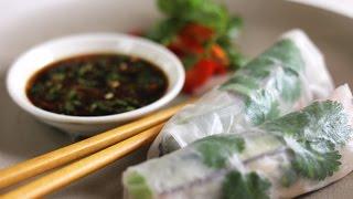 Vietnamese Style Salad Rolls