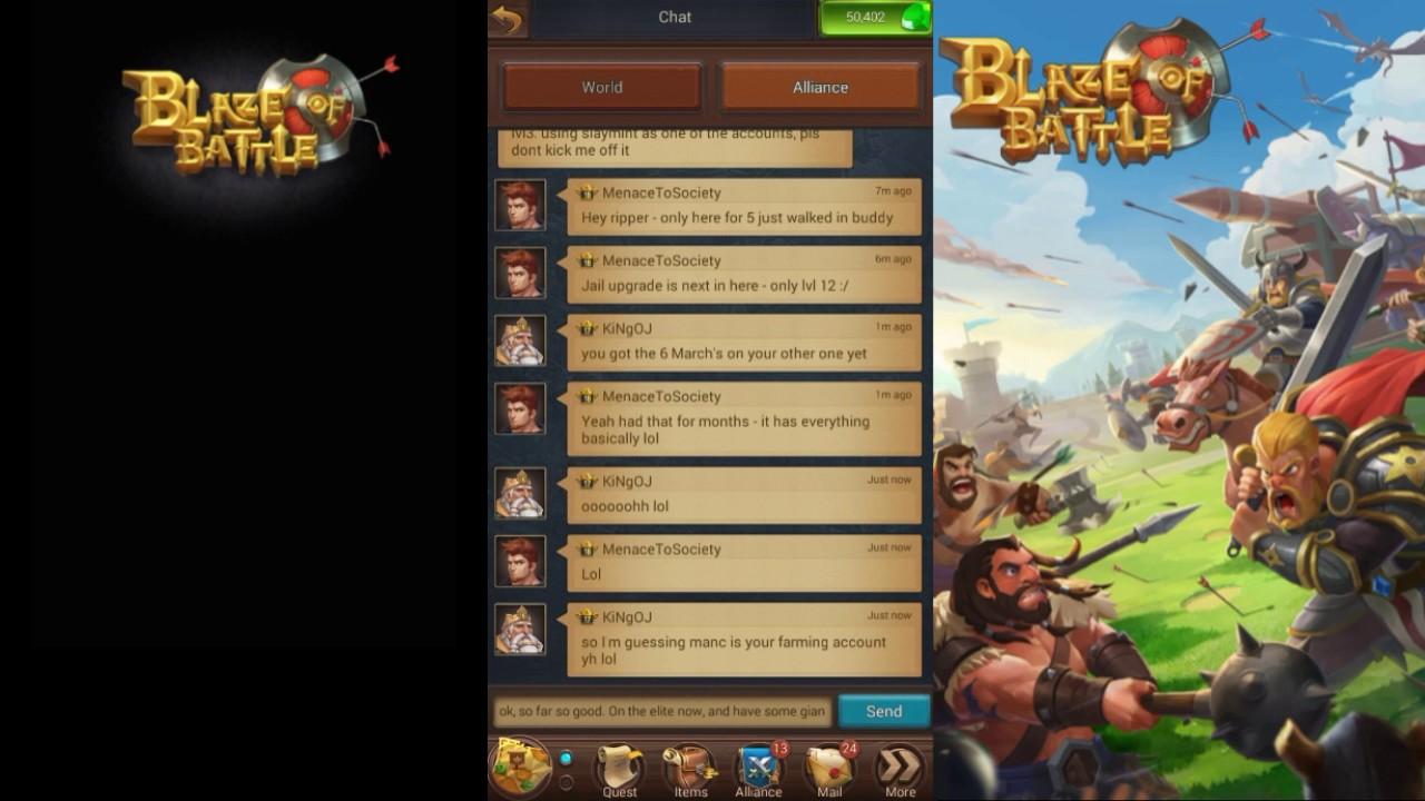 blaze of battle monster attacking tips youtube