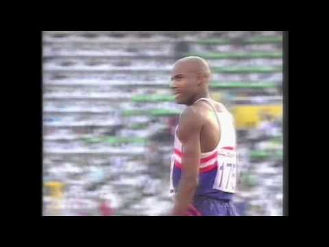 3996 Olympic Track & Field 1992 Long Jump Men Mike Powell