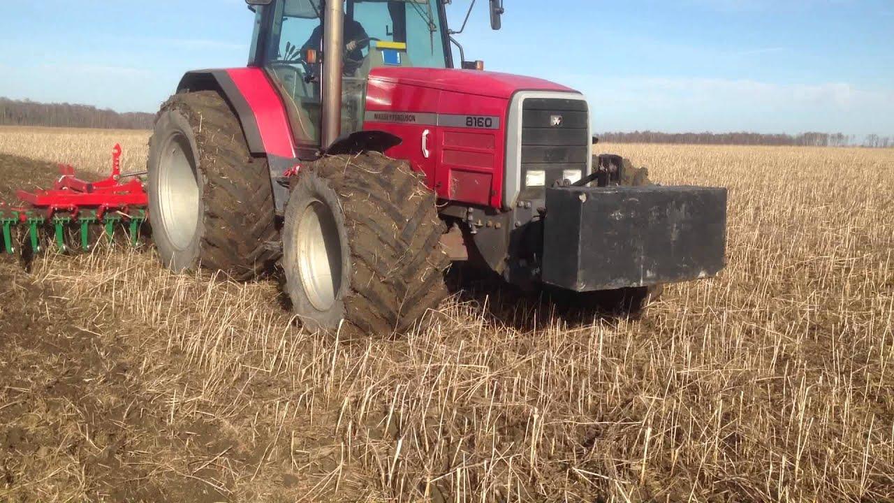 Massey Ferguson 8160 - Agro Masz 5m