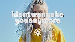 Billie Eilish - idontwannabeyouanymore (Elijah Hill Remix) [Lyrics Video]