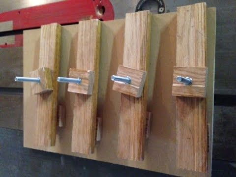 Small Stock Jointing Jig