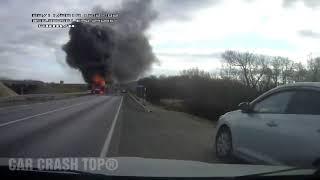 Idiot Drivers - Road Rage and Car Fails 2018 December #4 CAR CRASH TOP®