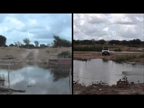 Crossing of Limpopo River (Mapai, Pafuri, Mozambique 2013)