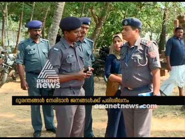 NDRF conducts disaster awareness program to flood hit people in Malappuram