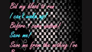 Bring Me To Life Nightcore Lyrics