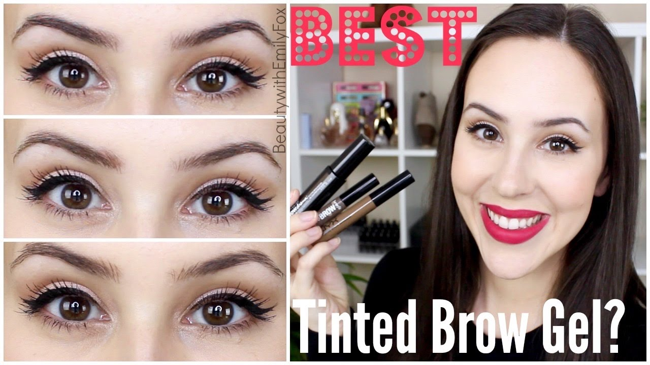 Best Drugstore Amp High End Tinted Brow Gels Benefit Nyx