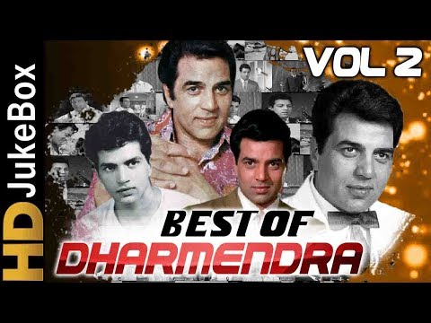 Dharmendra Hit Songs Jukebox Vol2 | Evergreen Old Hindi Songs Collection | Best Of Dharmendra