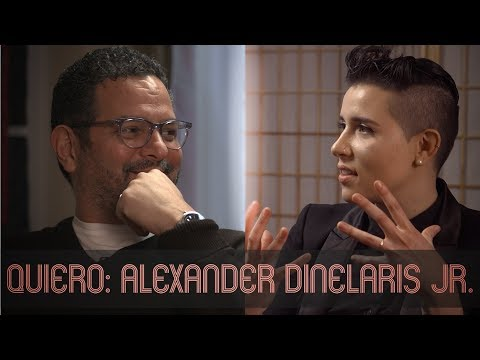 QUIERO with Alexander Dinelaris Jr: How Storytelling Saved His Life