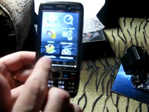 Nokia E71 mini TV/FM/2 SIM - YouTube