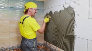 Гидроизоляция и укладка плитки в ванной комнате. Совет №15 от Weber-Vetonit