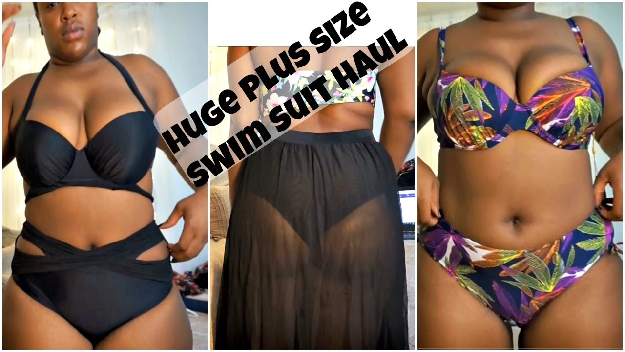 CHEAP PLUS SIZE SWIM SUIT TRY ON HAUL! DRESSLILY - YouTube