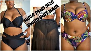 CHEAP PLUS SIZE SWIM SUIT TRY ON HAUL! DRESSLILY