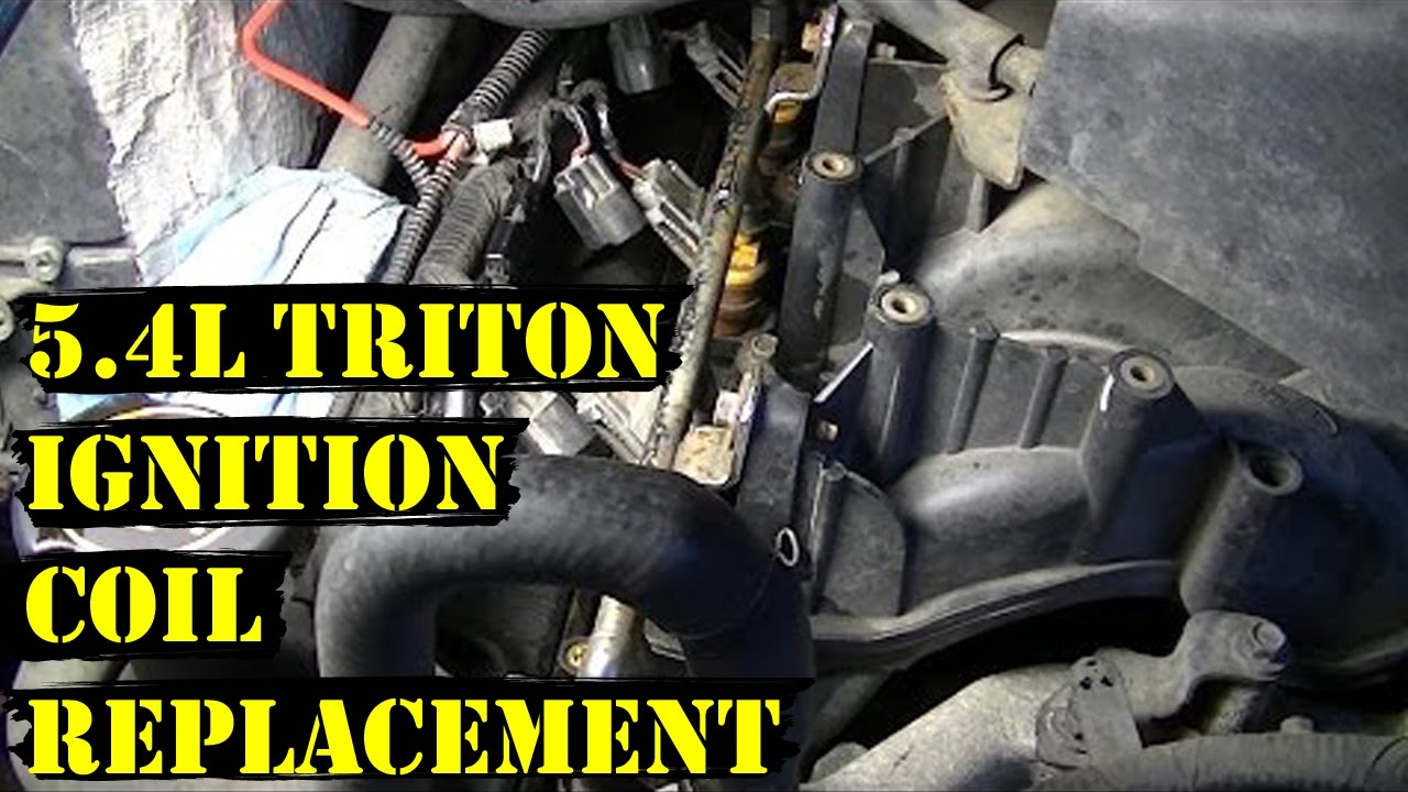 hight resolution of how to change ignition coils on 5 4l triton ford engine