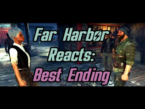 Fallout 4 - Far Harbor's Reaction to Peace - Best Ending