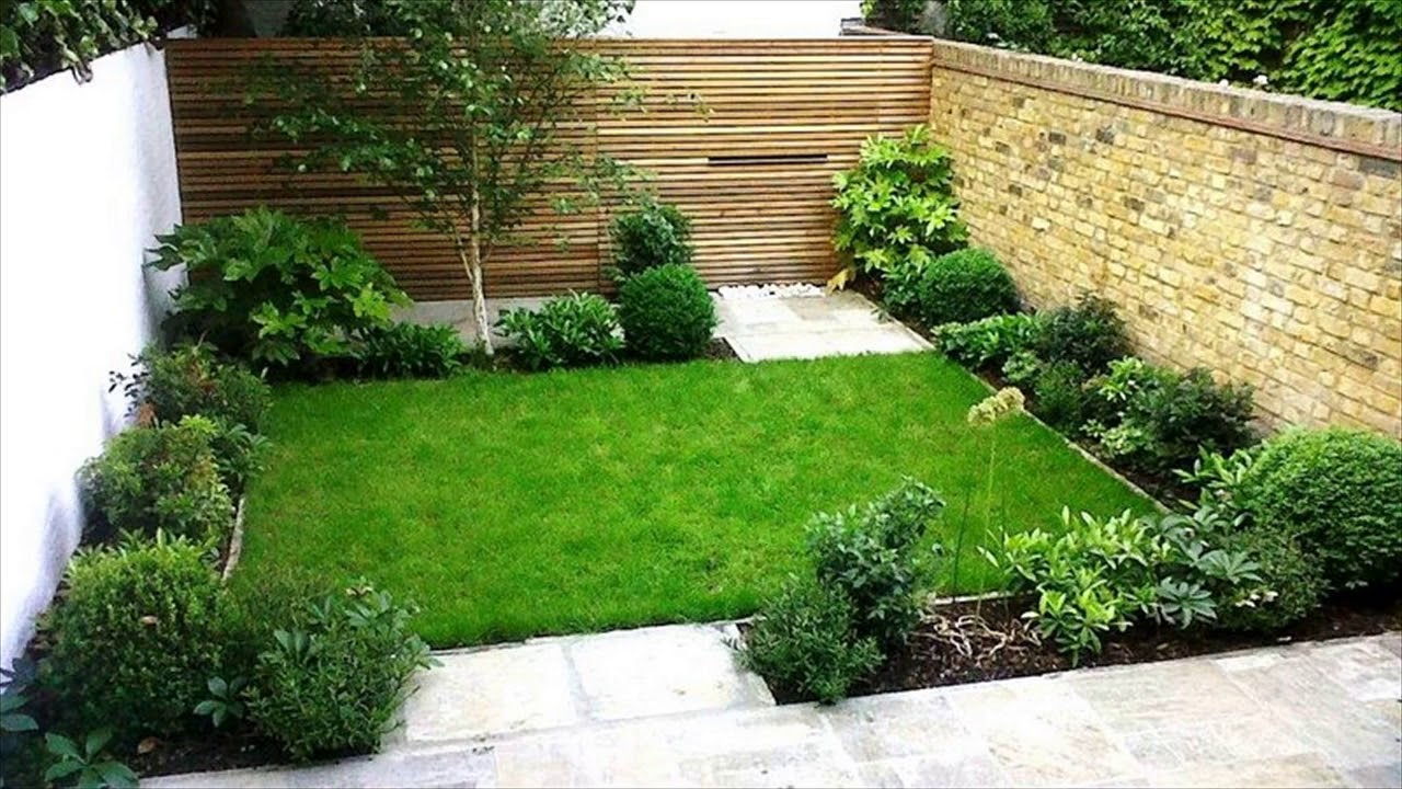 Small Garden Design Ideas Low Maintenance Youtube
