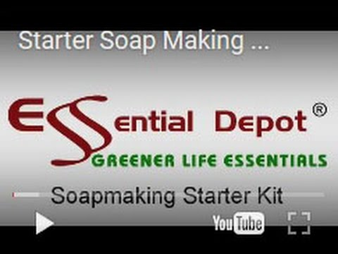 Starter Soap Making Kit from Essential Depot