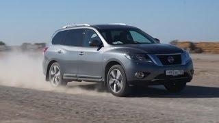 видео Тест драйв, обзор Nissan Pathfinder
