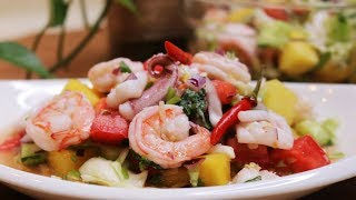 My ❤ Thai Recipes: Spicy Seafood Salad