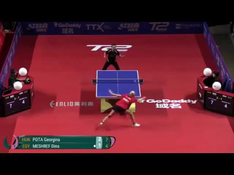 دينا مشرف لاعبة منتخب مصر لتنس الطاولة thumbnail