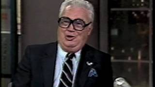 Harry Caray on Late Night, July 31, 1986