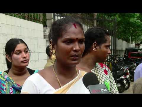 Chennai திருநங்கை Abinaya