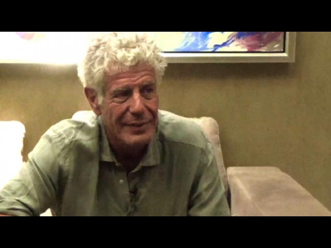 Inquirer Lifestyle's Exclusive Interview with Anthony Bourdain