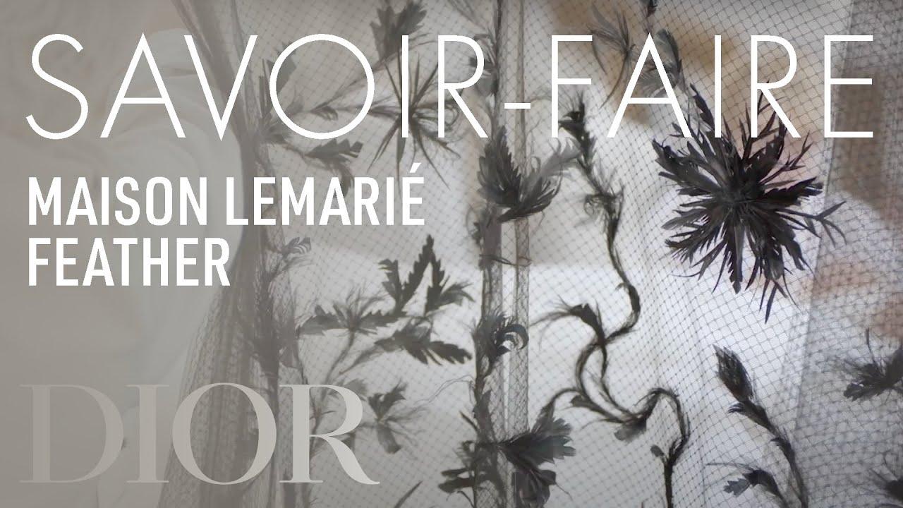The savoir-faire of Maison Lemarié for the Dior Autumn-Winter 2019-2020 Haute Couture collection