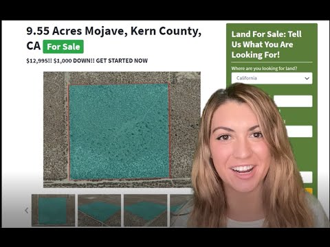 9.55 Acres Mojave Property in Kern County, CA