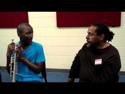 Interview for trumpet HEB ISD 1, Trumpets4Kids, Freddie Jones