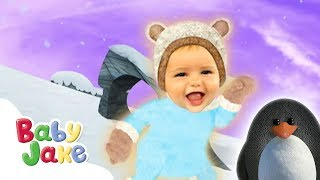 Baby Jake - Snowy Days | Full Episodes | Yaki Yaki Yogi | Cartoons for Kids