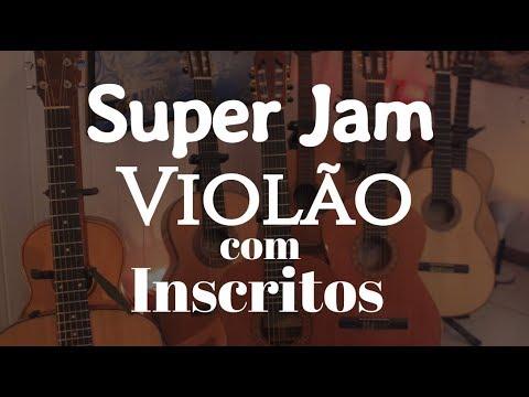 """Super Jam de Violão com Inscritos """"A Bailarina"""" Fabio Lima"""