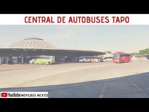 Conoce Las Terminales De Autobuses En México  Cap. 5 Terminal TAPO 