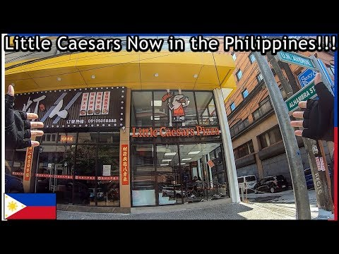 The first Little Caesars Pizza franchise in the Philippines