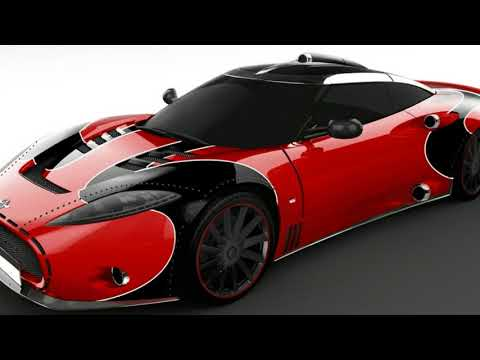 Test   Review  :  Spyker reveals special C8 Aileron LM85 to close out model's production